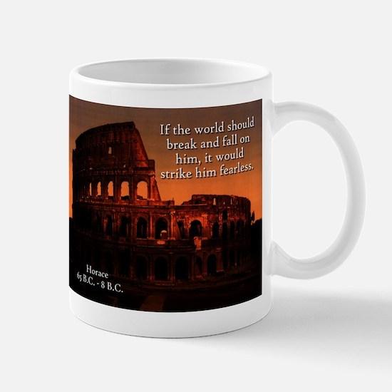 If The World Should Break - Horace Mugs