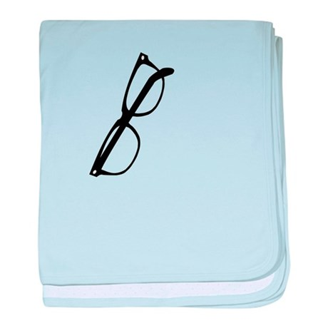 How are your glasses hangin? baby blanket