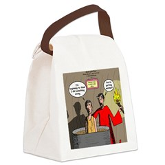 Sin of Omission Canvas Lunch Bag