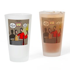 Sin of Omission Drinking Glass