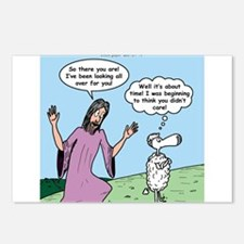 Lost Sheep Postcards (Package of 8)