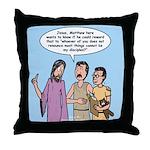 Priorities Throw Pillow