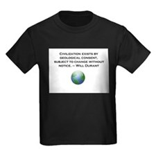 Civilization exists by geological consent T