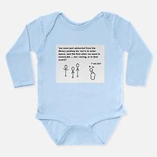 Jim the Alien Long Sleeve Infant Bodysuit