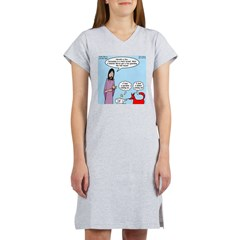 Fox and Hen Women's Nightshirt