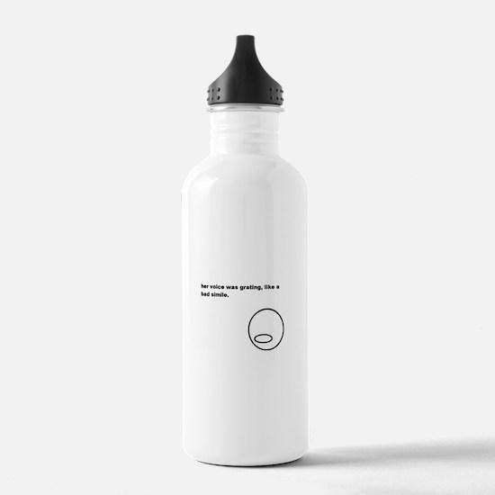 Like a Bad Simile Water Bottle