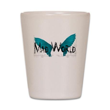 Mad World Band Logo Shot Glass