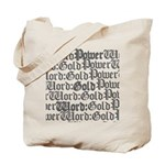 PW:G Logo Design Tote Bag