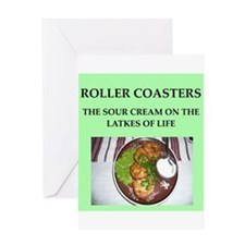 roller,coasters Greeting Card