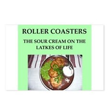 roller,coasters Postcards (Package of 8)