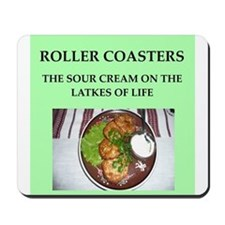 roller,coasters Mousepad