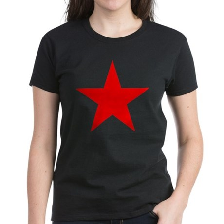 Red star 1 Women's Dark T-Shirt