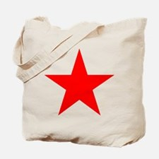 Red star 1 Tote Bag