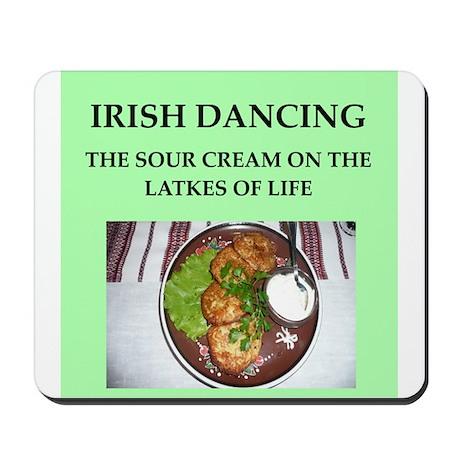 irish dancing Mousepad