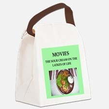 movies Canvas Lunch Bag