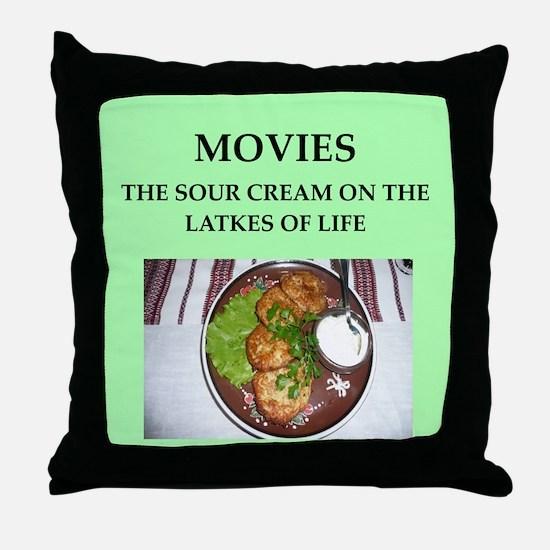 movies Throw Pillow