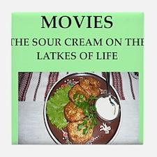 movies Tile Coaster