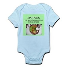 mahjong Infant Bodysuit