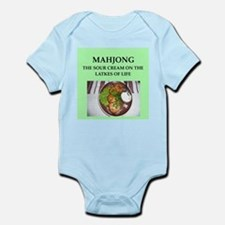 mahjong Infant Bodysuit