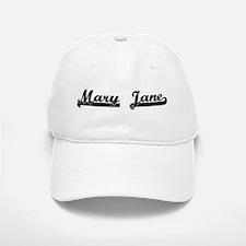 Black jersey: Mary Jane Baseball Baseball Cap