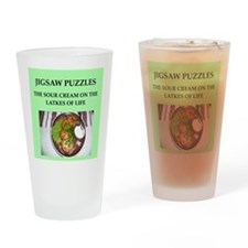 jigsaw puzzle Drinking Glass