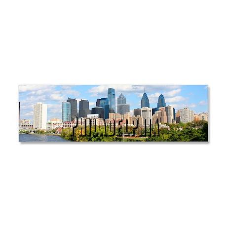 Philadelphia Car Magnet 10 x 3