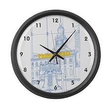 Philadelphia Large Wall Clock