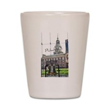 Philadelphia Shot Glass