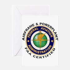 Airframe & Powerplant Greeting Card