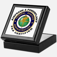 Airframe & Powerplant Keepsake Box