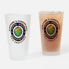 Airframe & Powerplant Drinking Glass