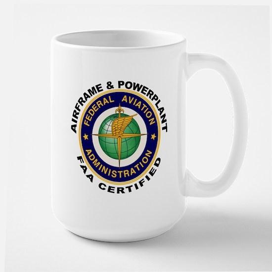 Airframe & Powerplant Large Mug