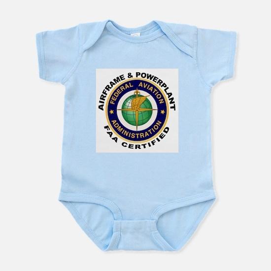 Airframe & Powerplant Infant Bodysuit