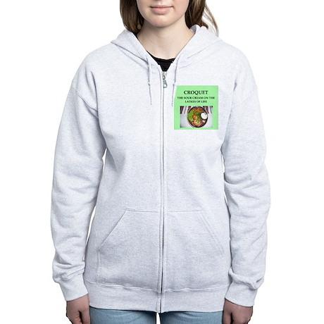 croquet Women's Zip Hoodie