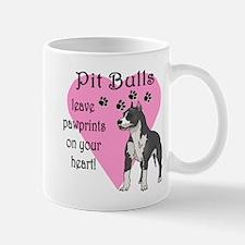 Pit Bulls Pawprints Mug