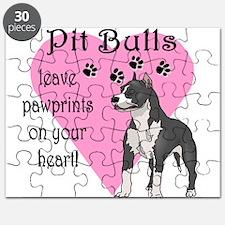Pit Bulls Pawprints Puzzle