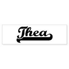 Black jersey: Thea Bumper Bumper Sticker