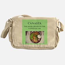 canasta Messenger Bag