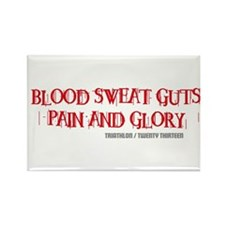 TRI - Pain Glory Rectangle Magnet