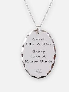Sweet Like A Kiss Pendant Necklace