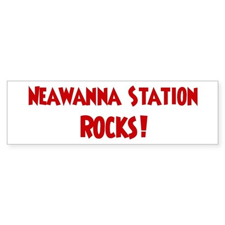 Neawanna Station Rocks Bumper Sticker