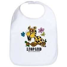 Funny Leopard Bib