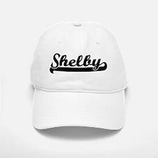 Black jersey: Shelby Baseball Baseball Cap