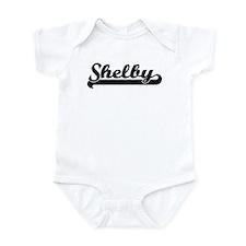 Black jersey: Shelby Infant Bodysuit
