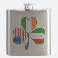 Shamrock of Italy Flask
