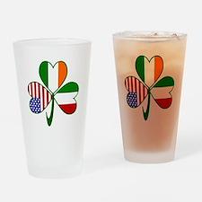 Shamrock of Italy Drinking Glass