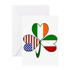 Shamrock of Italy Greeting Card
