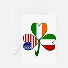 Shamrock of Italy Greeting Card