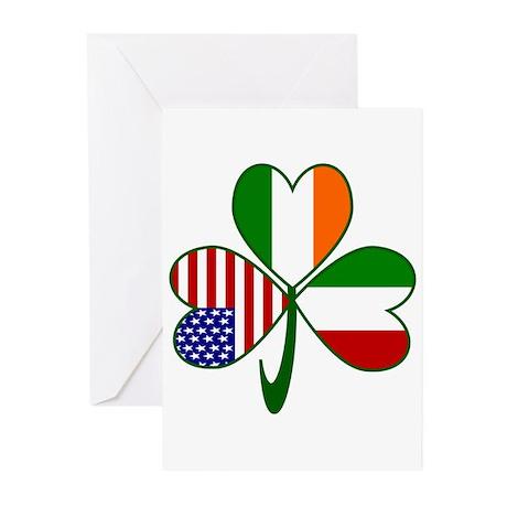 Shamrock of Italy Greeting Cards (Pk of 10)