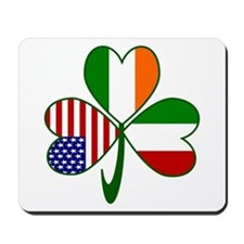 Shamrock of Italy Mousepad